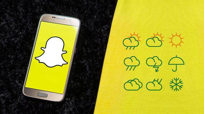 snapchat-weather