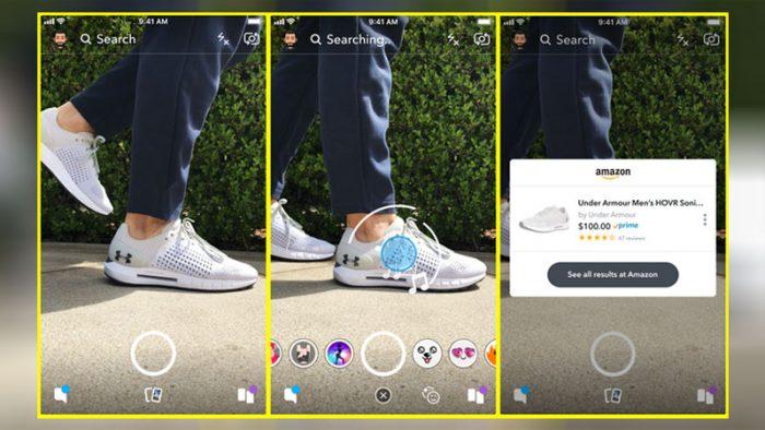 Snapchat Amazon