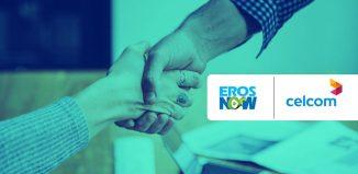 Eros Now Celcom Axiata Berhad Malaysia