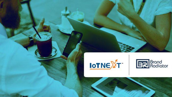 Brand Radiator IoTNext PR & social media partner IoTNext2018 Global Summit