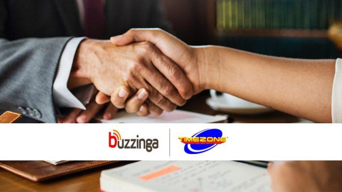Timezone Entertainment Buzzinga Digital social media
