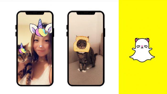 Snapchat cat lenses