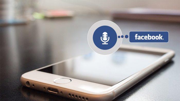 Facebook Messenger Voice Command