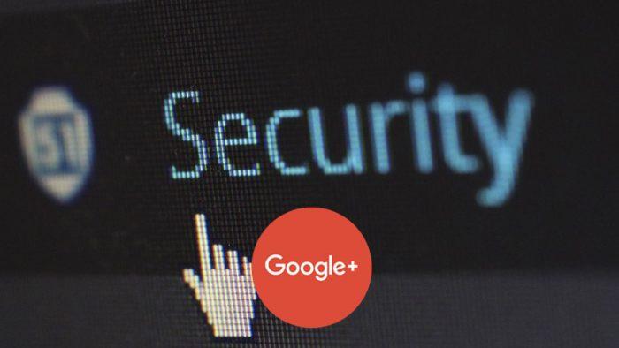 Google+ security breach corporate platform