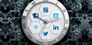 scheduling social media posts