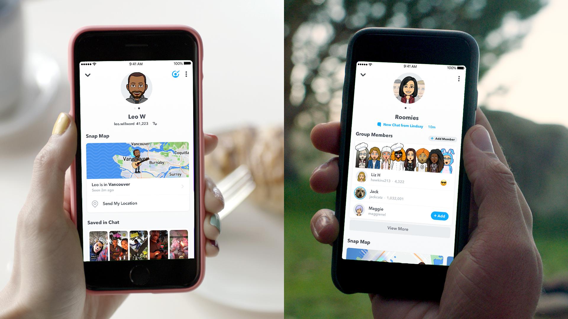 Snapchat Friendship Profiles