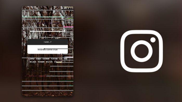 Instagram glitch