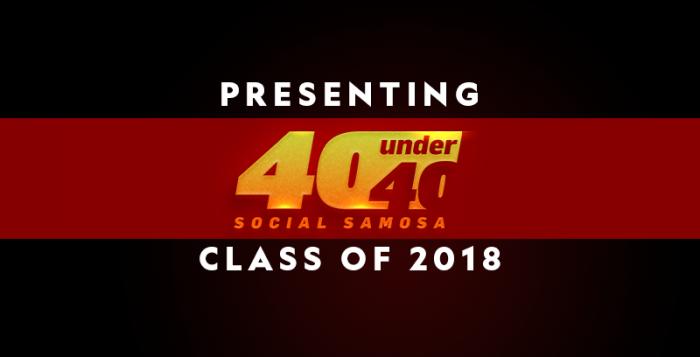 Social Samosa 40 Under 40