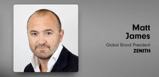 Matt James, Global Brand President, Zenith