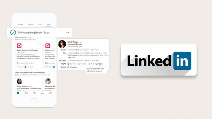 LinkedIn Jobs Update