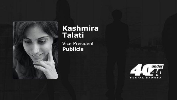 Kashmira Talati, Vice President, Publicis,