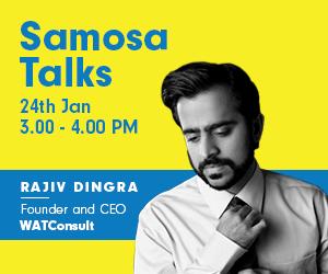 Samosa Talks with Rajiv Dhingra