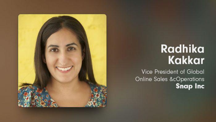 Radhika Kakkar, Snapchat