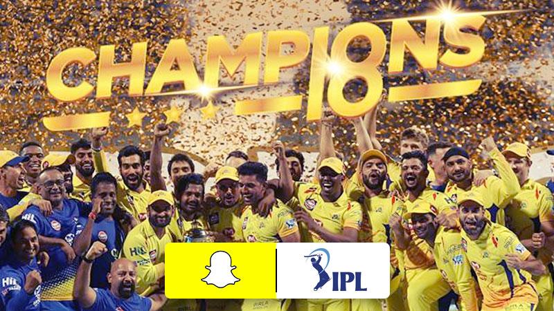 Snapchat teams up with four IPL teams - Social Samosa