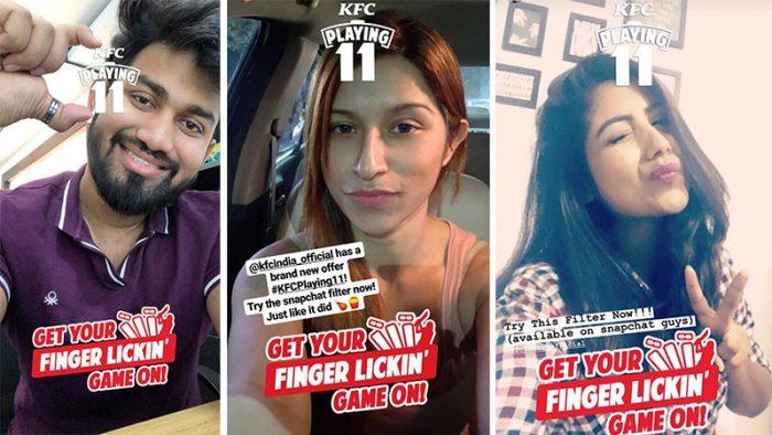 KFC Snapchat Lens