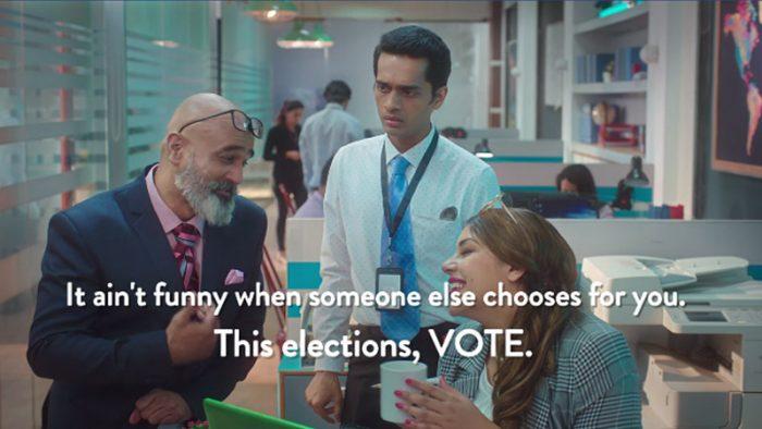 Comedy Central election campaign