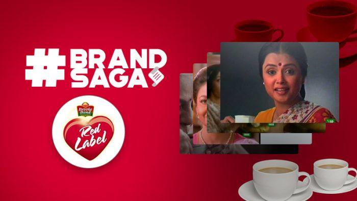 Brooke Bond Red Label advertising journey