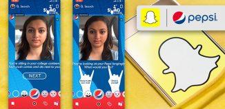 Snapchat Interactive Lens