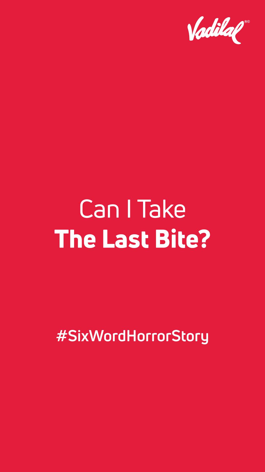 Brand #SixWordHorrorStory