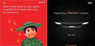 International Tiger Day brand posts