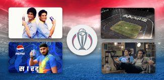 Pepsi Cricket World Cup campaigns