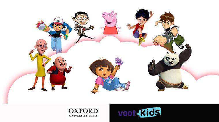 VOOT Kids licenses children's content from Oxford University