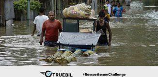 Truebil leads the #RescueAssamChallenge campaign