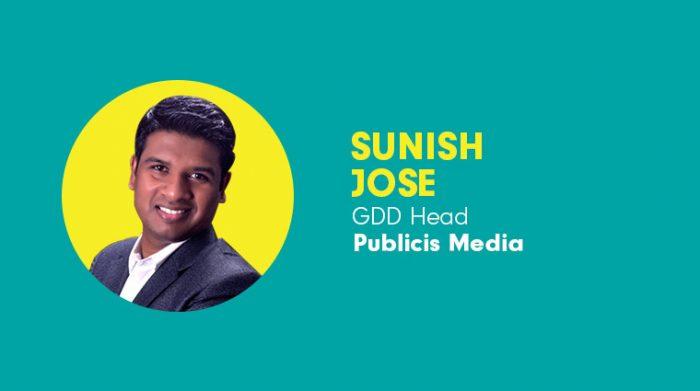 Sunil Jose- GDD head of Publicis Media India