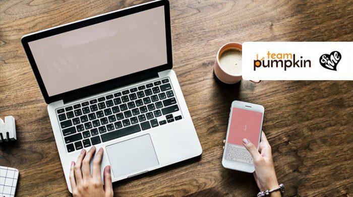 Team Pumpkin Bags Social Media Mandate for &Me