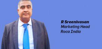 Roca Bathroom Products Pvt Ltd appoints R Sreenivasan as Head of Marketing