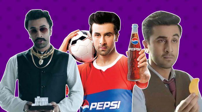 Ranbir Kapoor Ads