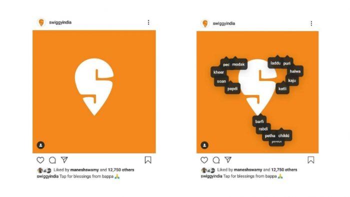 Instagram tap posts