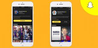 Snapchat News Tab