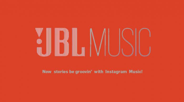 Instagram Music brand posts