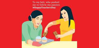 Teachers' Day brand posts