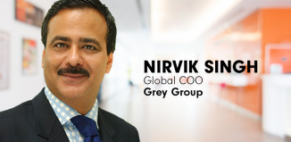 Nirvik Singh- Global COO, Grey Group