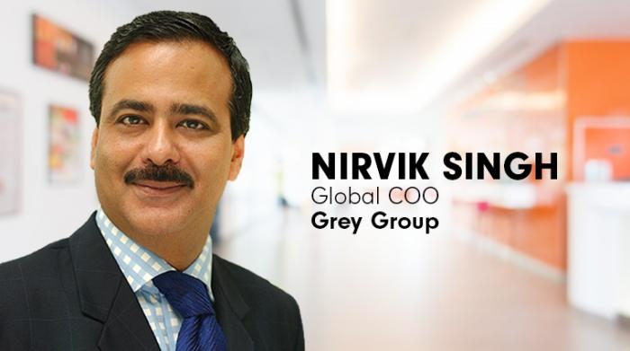 Nirvik Singh- Global COO, Grey Group