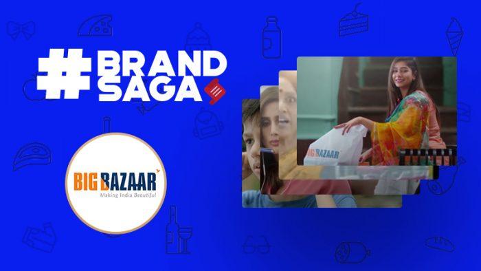 Big Bazaar advertising journey