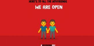 National Boyfriend Day brand posts