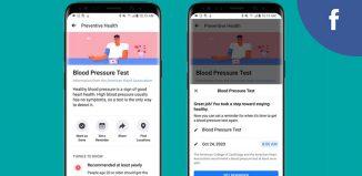 Facebook Preventive Health tool