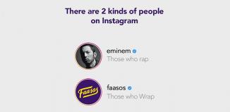 #TwoKindsOfPeople brand posts