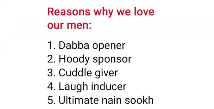 International Mens Day brand posts