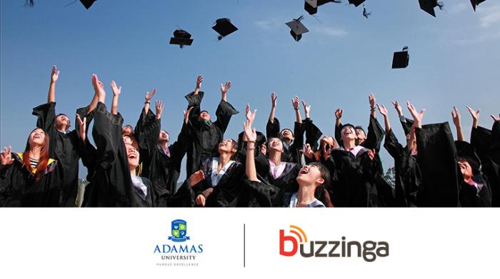 Adamas University and Buzzinga