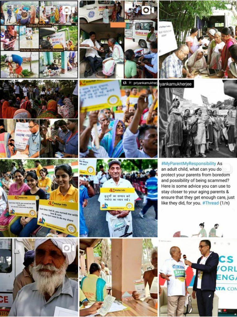 HelpAge India Instagram