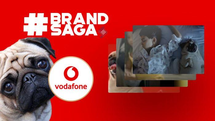 Vodafone advertising journey