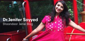 Jenifer Sayyed- Shaandaar Jenie Blog