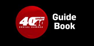 Social Samosa 40 Under 40 Guide Book