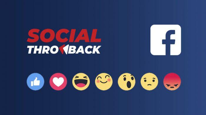 Facebook 2019- social throwback