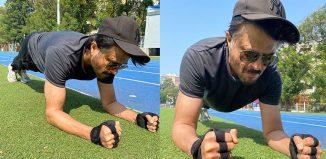Anil Kapoor #PlankForIndia