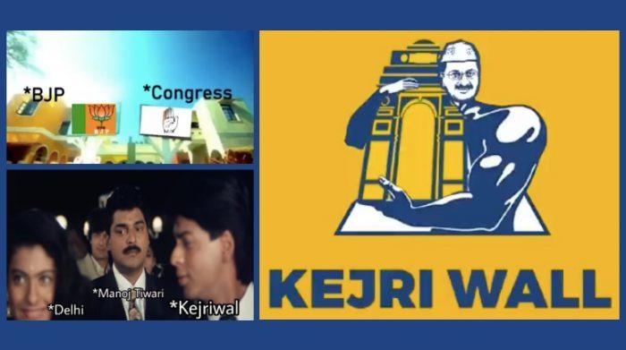 Delhi politics troll
